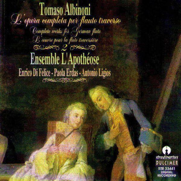 Enrico di Felice - Albinoni: L'opera completa per flauto traverso, Vol. 2