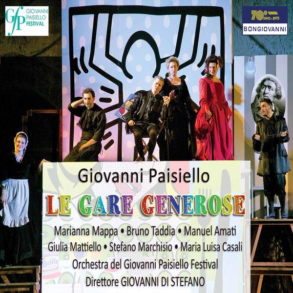 Orchestra del Giovanni Paisiello Festival - Paisiello: Le gare generose, R 1.71 (Live)