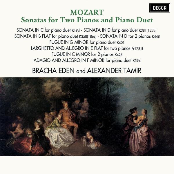 Bracha Eden - Mozart: Sonatas for Two Pianos & Piano Duet