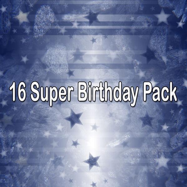 Happy Birthday - 16 Super Birthday Pack