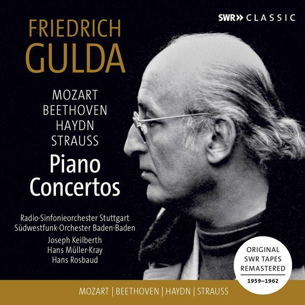 Friedrich Gulda - Mozart, Beethoven, Haydn, Strauss: Piano Concertos (Live)