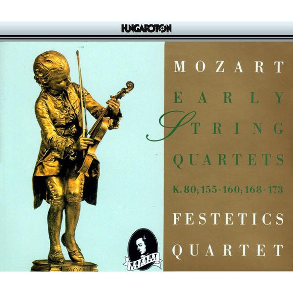 Festetics Quartet - Mozart: String Quartets Nos. 1-13