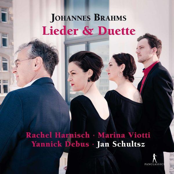 Rachel Harnisch - Brahms: Songs & Duets