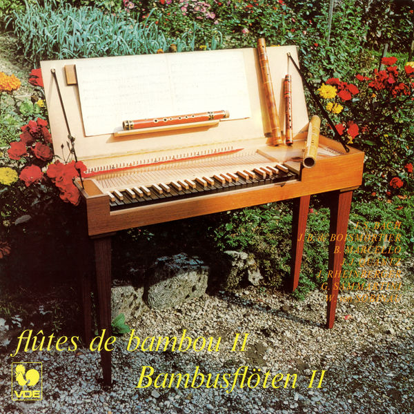 Jacqueline Gauthey-Urwyler - Flûtes de bambou Vol. 2: Sammartin - Boismortier - Rheinberger - Bach - Marcello