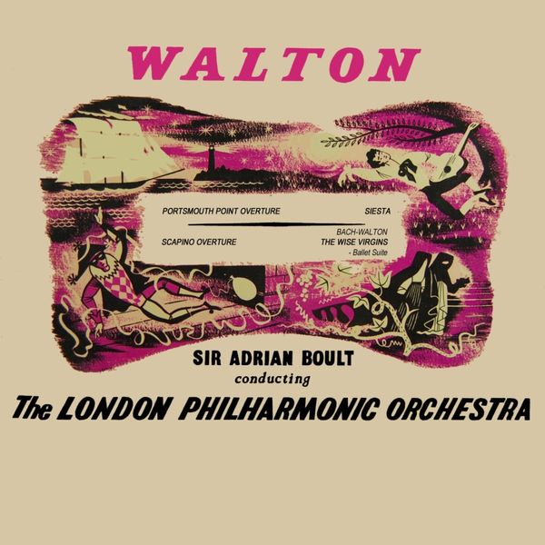 London Philharmonic Orchestra - Walton: Portsmouth Point - Bach: The Wise Virgins