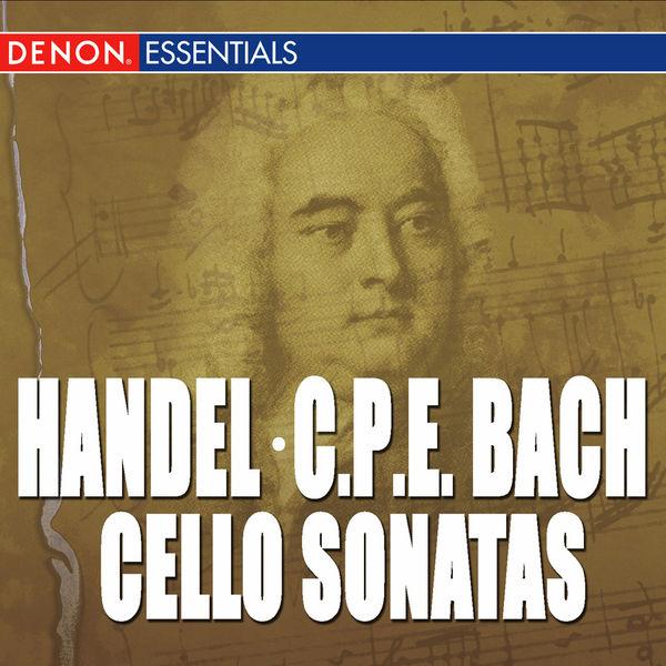 Various Artists - Handel: Cello Sonatas - CPE Bach: Cello Sonatas 128, 126 & 124