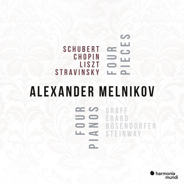 Alexander Melnikov - Four pianos, Four Pieces
