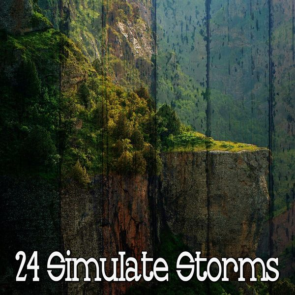 Rain Sounds Sleep - 24 Simulate Storms