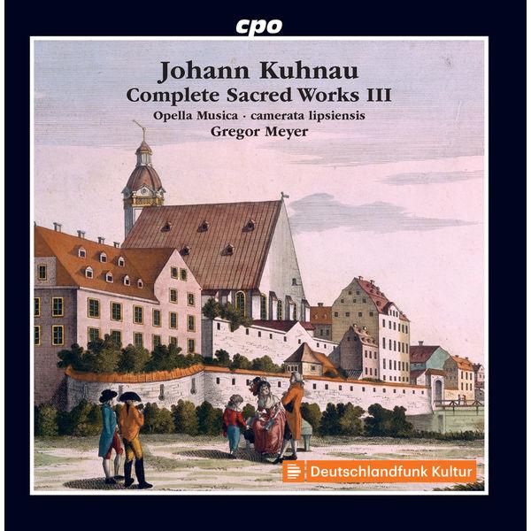 Opella Musica Kuhnau: Complete Sacred Works, Vol. 3