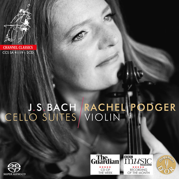 Rachel Podger - Cello Suite No. 3 in C Major, BWV1009: V. Bourrée (Transcribed by Rachel Podger, G Major)