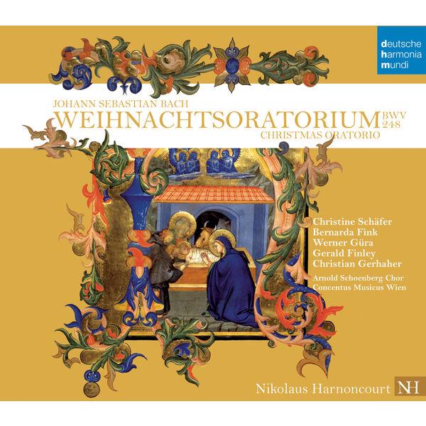 Nikolaus Harnoncourt - Bach: Christmas Oratorio