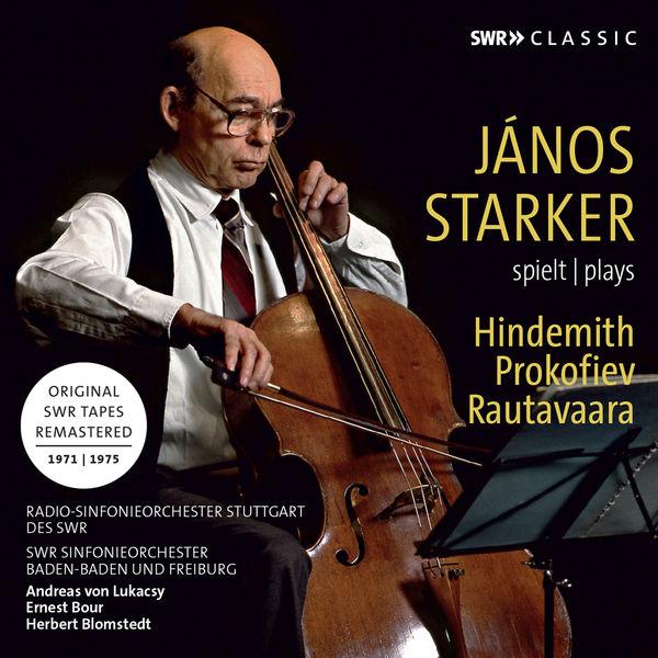 Janos Starker - János Starker Plays Hindemith, Prokofiev & Rautavaara