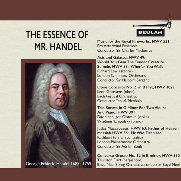 Various Artists - The Essence of Mr. Handel