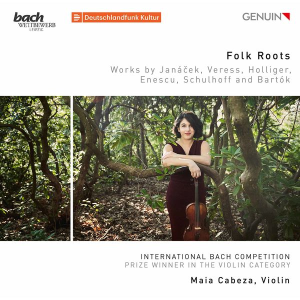 Maia Cabeza - Folk Roots: Works by Janáček, Veress, Holliger, Enescu, Schulhoff & Bartók