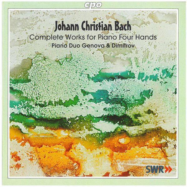 Piano Duo Genova & Dimitrov - J.C. Bach: Complete Works for Piano 4 Hands
