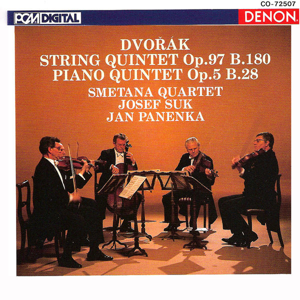 Smetana Quartet - Antonin Dvorak Quintets, Op. 97 & 5
