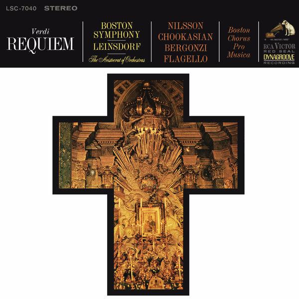 Erich Leinsdorf - Verdi: Messa da Requiem; Menotti: The Death Of The Bishop Of Brindisi; Schönberg:  Gurrelieder