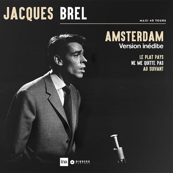 Jacques Brel - AMSTERDAM (Edition limitée maxi 45 t)