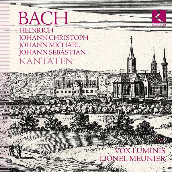 Vox Luminis - Bach (Heinrich, J. Christoph, J. Michael, J. Sebastian) : Kantaten