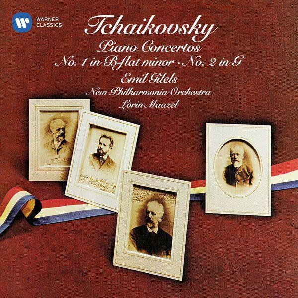 Emil Gilels - Tchaikovsky: Piano Concertos Nos 1 & 2