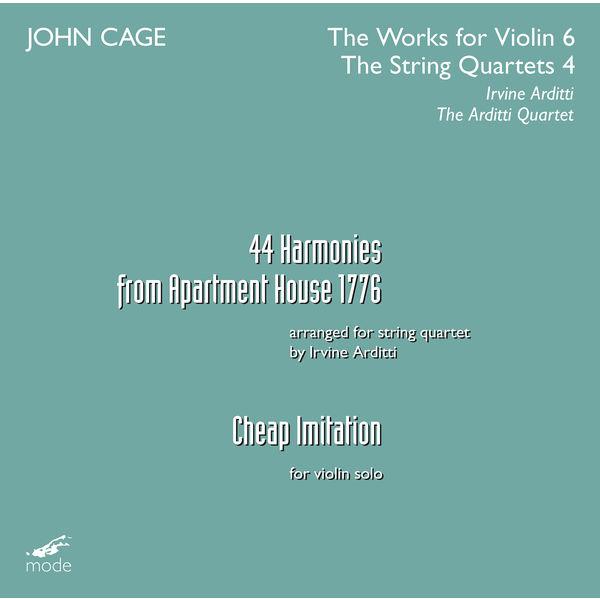 Arditti Quartet - Cage: The Works for Violin, Vol. 6 & The String Quartets, Vol. 4