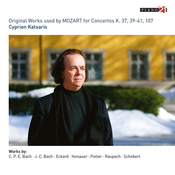 Cyprien Katsaris, Ariane Volm - Original Works Used for Mozart's Concertos (K. 37, 39, 40, 41 & 107)