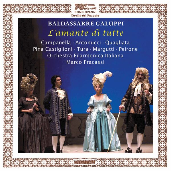 Orchestra Filarmonica Italiana di Piacenza - Galuppi: L'amante di tutte (Live)