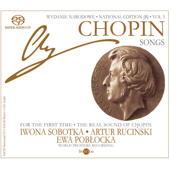 Ewa Pobłocka - Chopin: National Edition Vol. 3 - Songs