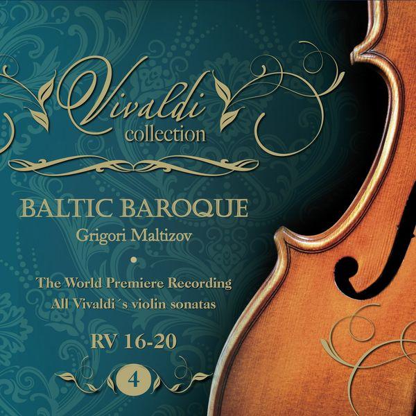 Album Vivaldi Collection 4 RV 16-20 the World Premiere