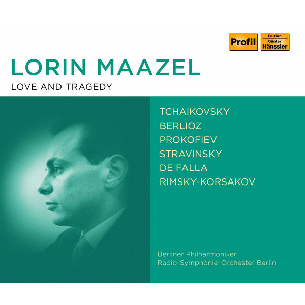 Radio-Symphonie-Orchester Berlin - Lorin Maazel: Love and Tragedy