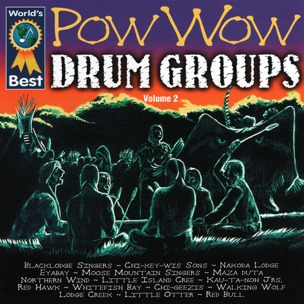 Various Artists - Pow Wow Drum Groups, Vol. 2