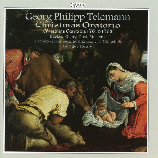 Michaelstein Chamber Choir - Telemann: Christmas Oratorio & Cantatas