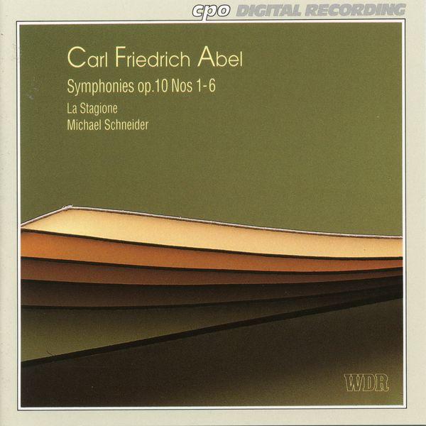 Stagione Frankfurt, La - Abel: Symphonies, Op. 10