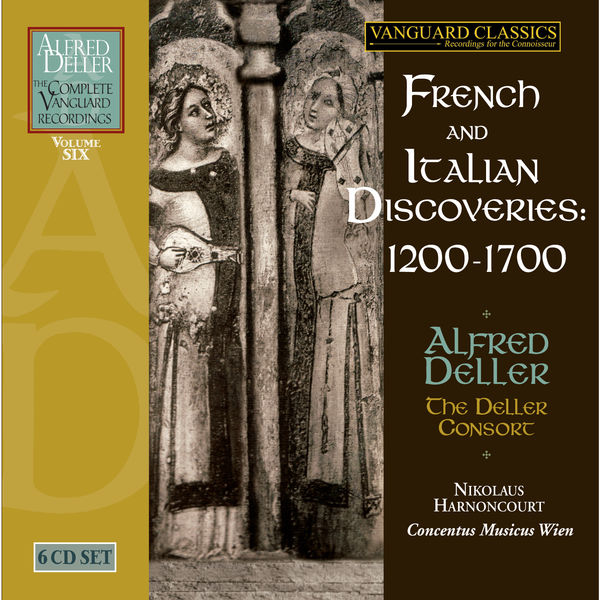 Alfed Deller & The Deller Consort - Alfred Deller: French & Italian Discoveries