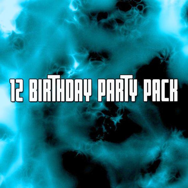 Happy Birthday - 12 Birthday Party Pack