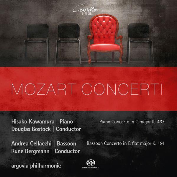 Hisako Kawamura, Andrea Cellacchi, Douglas Bostock, Rune Bergmann, Argovia Philharmonic - Mozart: Concerti