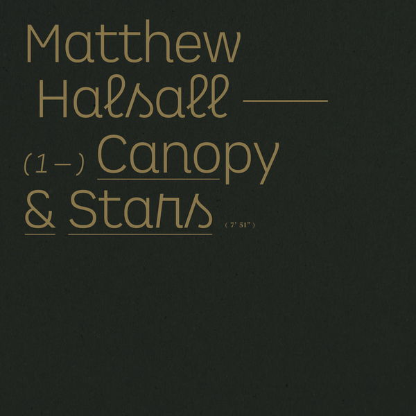 Matthew Halsall - Canopy & Stars