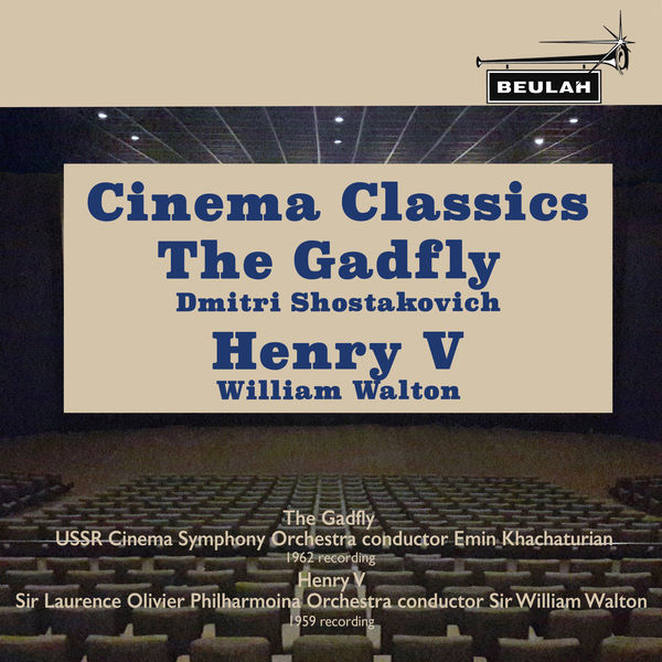 Emin Khachaturian - Cinema Classics: The Gadfly & Henry V