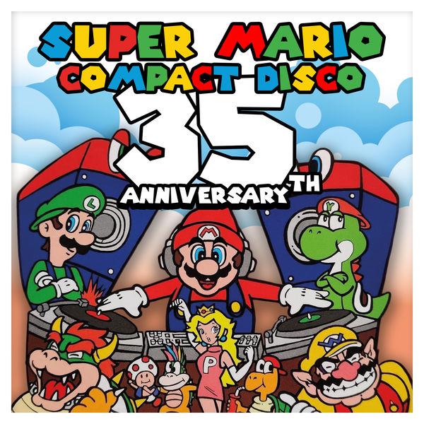 Ambassadors Of Funk - Super Mario Compact Disco – 35th Anniversary Edition