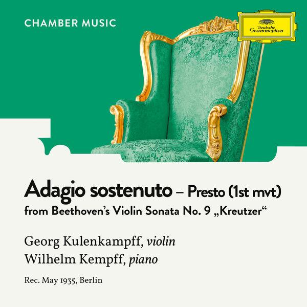"""Georg Kulenkampff - Beethoven: Violin Sonata No. 9 in A Major, Op. 47 """"Kreutzer"""": 1. Adagio sostenuto - Presto"""