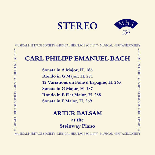Carl Philippe Emmanuel Bach - Carl Philipp Emanuel Bach: Selected Keyboard Works