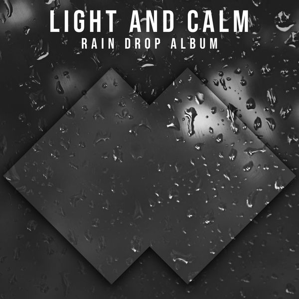 20 Light and Calm Rain Drop Album for Relaxation and Ambience