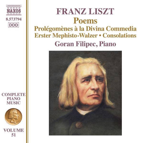 Goran Filipec - Liszt : Poems