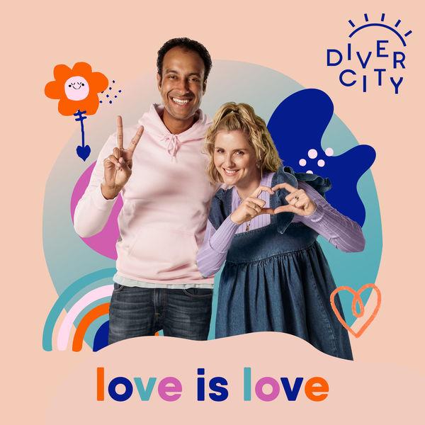 Diver City - Love is Love (Rainbow Family)