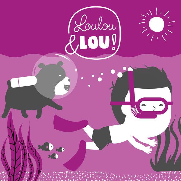 Canciones infantiles Loulou & Lou - Cabeza Hombro Rodillas Y Dedos