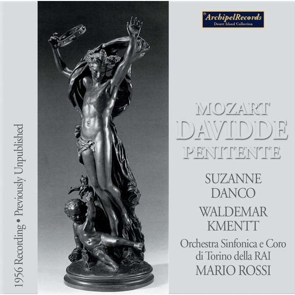 Suzanne Danco - Mozart: Davidde penitente, K. 469 (Live)