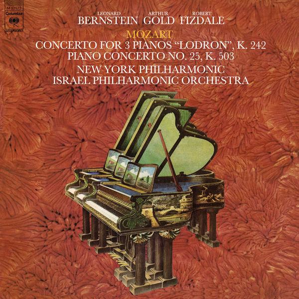 Leonard Bernstein - Mozart: Concerto for Three Pianos in F Major, K. 242 & Piano Concerto No. 25 in C Major, K. 503