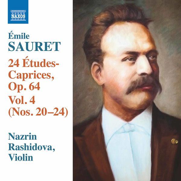 Nazrin Rashidova - Sauret: 24 Études-caprices, Vol. 4