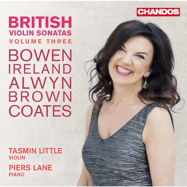 Tasmin Little - British Violin Sonatas, Vol. 3