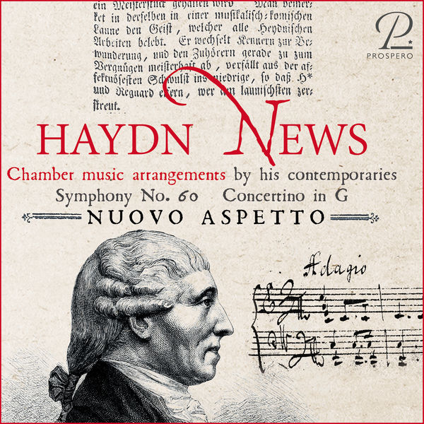 Nuovo Aspetto Haydn News - Chamber Music Arrangements by his Contemporaries